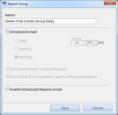 deggy guard tour scheduling automatic emails