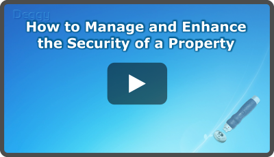 Video: How to Manage and Enhance the Security of a Property