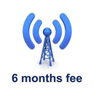 Wireless Deggy Web 6 months Subscription Renewal Fee