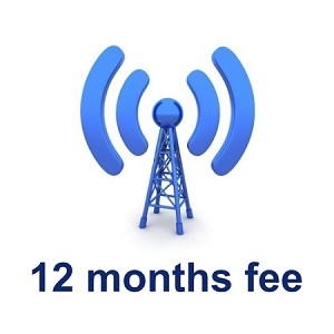 Wireless Deggy Web 12 months Subscription Renewal Fee